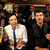 """Blurred Lines"" With Robin Thicke"