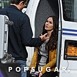 Megan Fox Filming Teenage Mutant Ninja Turtles | Photos
