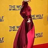 Margot Robbie in Oscar de la Renta