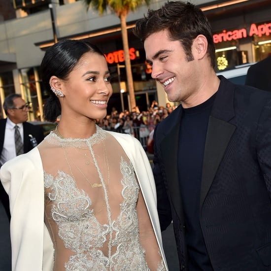 Zac Efron and Sami Miro at We Are Your Friends LA Premiere