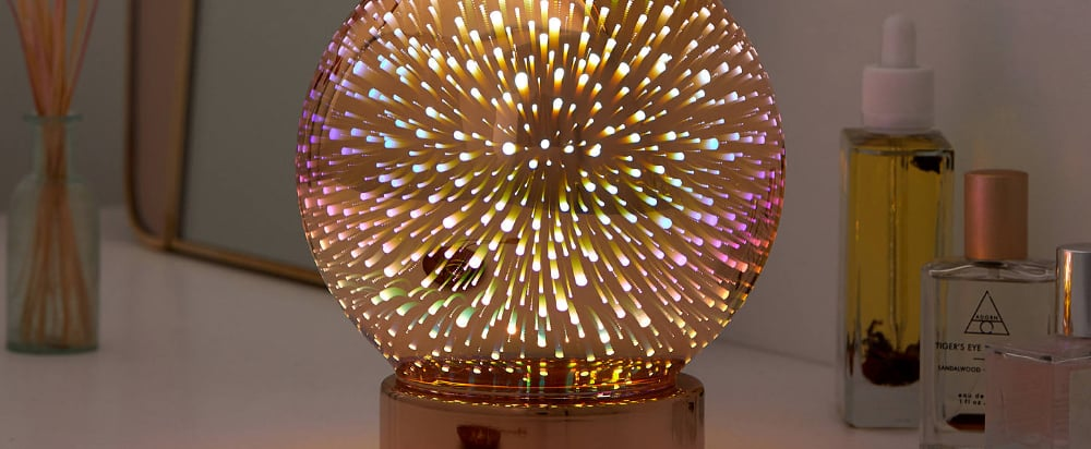 Galaxy Globe Table Lamp From Urban Outfitters