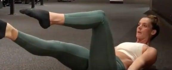 Tanya Poppett Core Workout