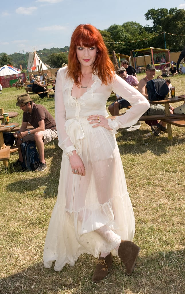 Florence Welch, 2010