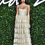 Sara Sampaio at the British Fashion Awards 2019