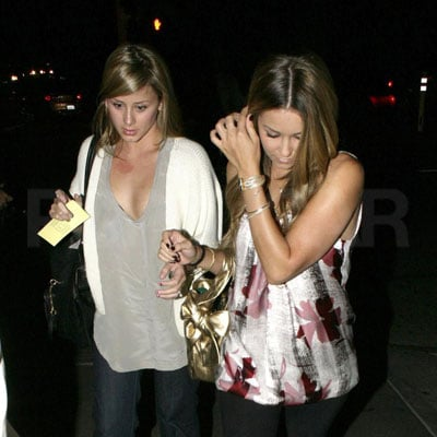 Lauren Conrad and Lo Bosworth Out in LA 2008-06-04 16:36:08