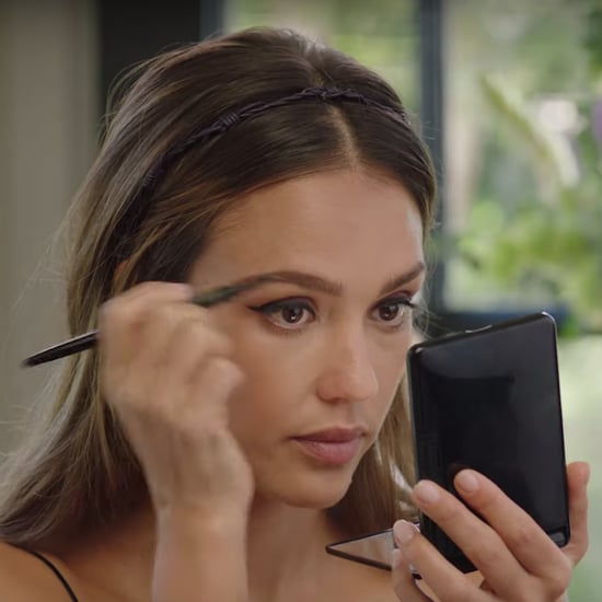 Jessica Alba's Hack for the Perfect Winged Eyeliner