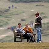 Dakota Fanning and Jeremy Irvine filmed together.