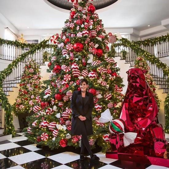 Photos of Kris Jenner's Lavish Christmas Decorations