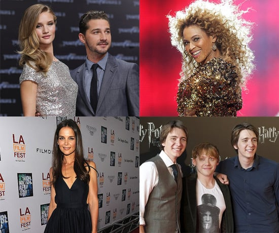 Celebrity Pictures of Rosie Huntington-Whiteley, Rupert Grint, Beyonce, Katie Holmes and More