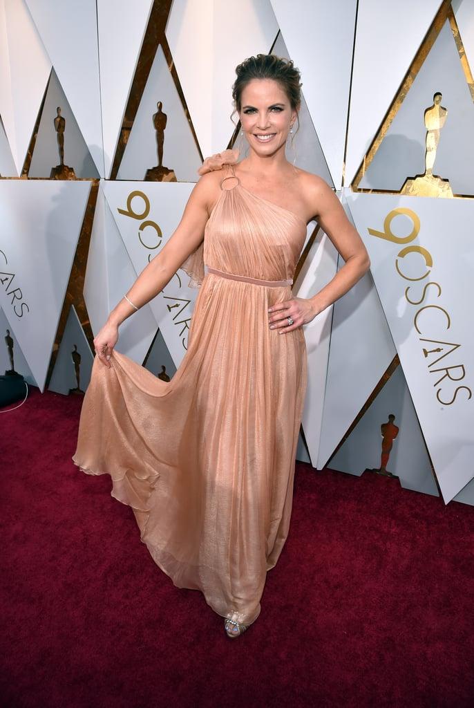 Natalie Morales Oscars Red Carpet Dresses 2018