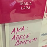 Celebrity editor Maria Mercedes Lara exposed herself as the one and only Adele Dazeem.