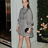 Hailee Steinfeld struck a pose at the Chanel party.