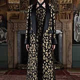 Temperly London Josie Animal Print Silk-Blend Coat