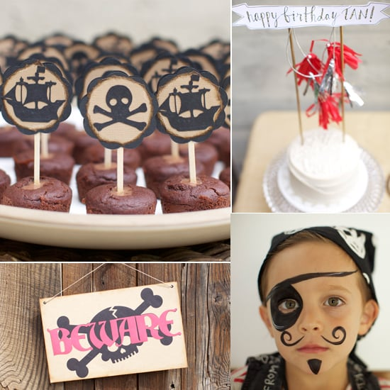 A Hip Pirate Party Thrown For a Designer Kid