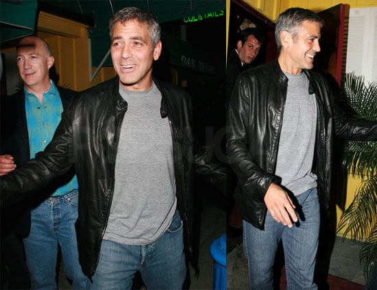 George Clooney Back in LA and Loving It