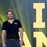 Harry had an absolute ball when he kicked off the Invictus Games — of which he is a patron — in Orlando, FL, in May.