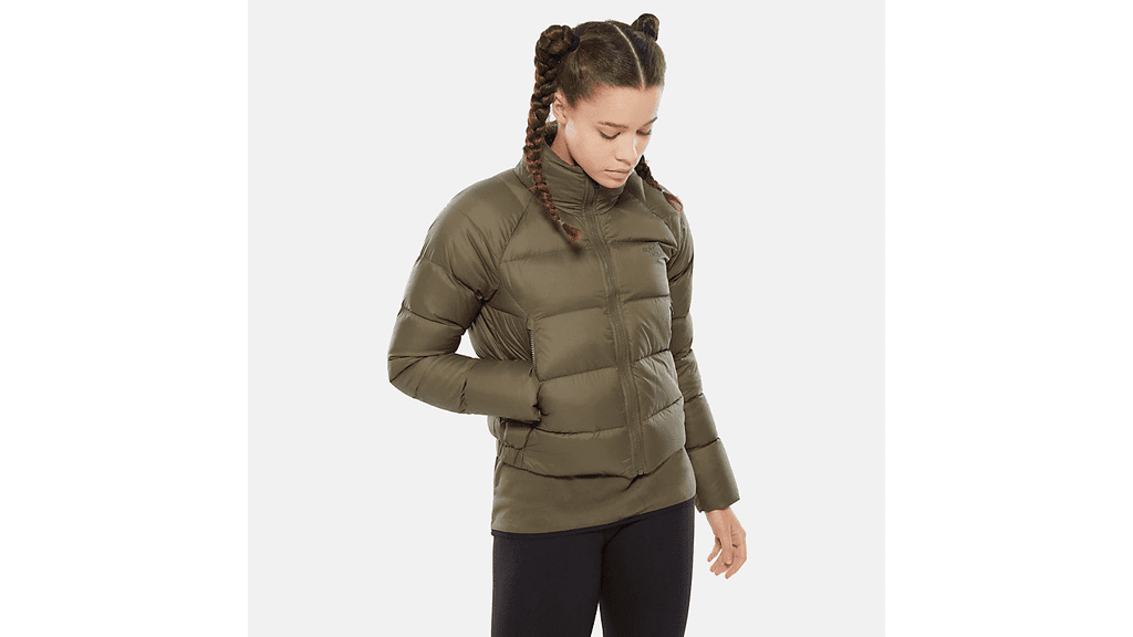 The North Face Water Repellent 550 Down Crop Jacket
