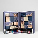 Ciaté (£50)  This 24-piece gift set includes nail polish minis featuring old and new collection colours, one full-sized nail polish, as well as a nail file and glitter toppers.