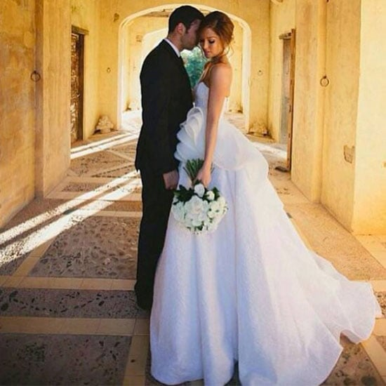 Pictures of Erin McNaught's Steven Khalil Wedding Dress