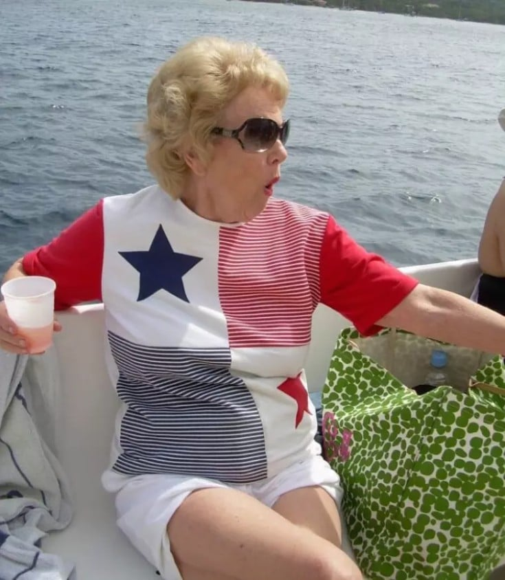 Grandma Wears Panama Flag Shirt on Fourth of July by Mistake