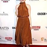 Emma Stone at the 2017 BAFTA Tea Party