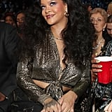 Rihanna's Afterparty Outfit at the Grammys 2018