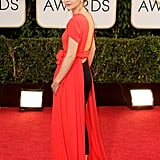 Emma in Dior at the 2014 Golden Globes.