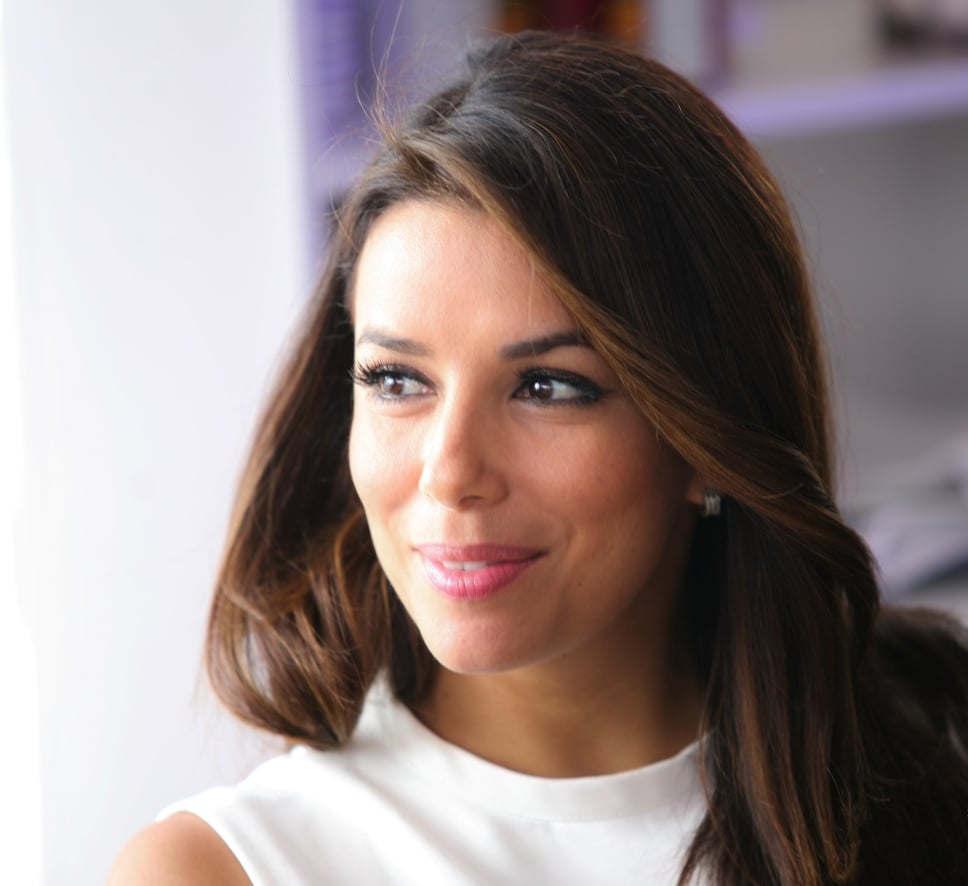 Eva Longoria lunched at Nikki Beach.