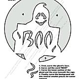 Ghost Stencil