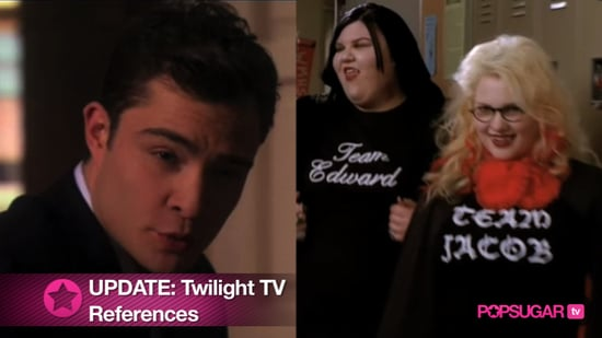 Twilight References on TV
