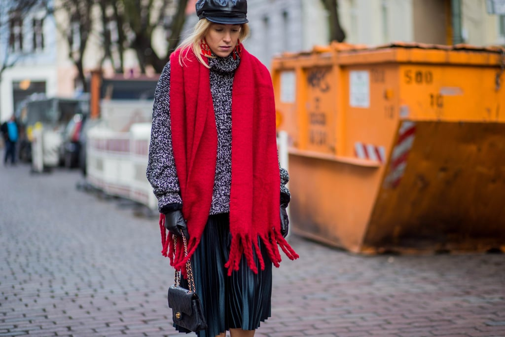 28 Fashionable Ways to Wear Your Scarf This Season
