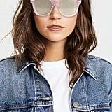 Gucci Vintage Web Oversized Sunglasses