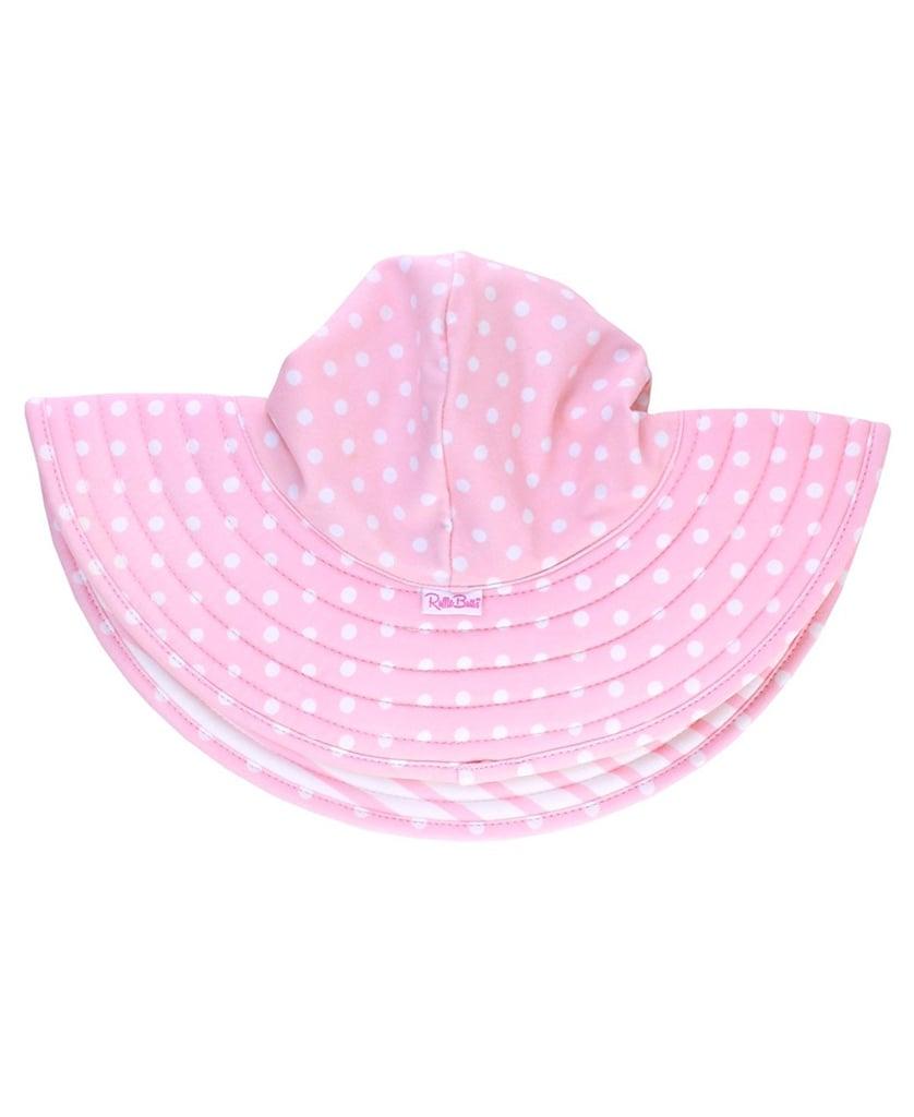 1b2e857f RuffleButts UPF 50+ Wide Brim Hat | Baby Swimwear With SPF ...