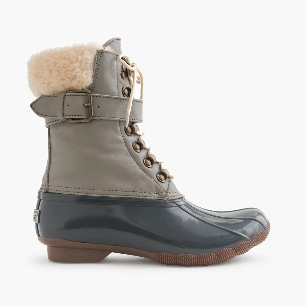 Sperry for J Crew Shearwater Buckle Boots $180