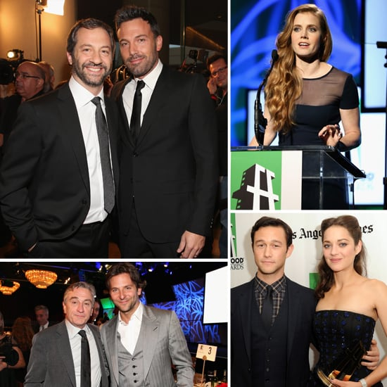 Bradley, Ben, and Marion Win Big and Catch Up at the Hollywood Film Awards