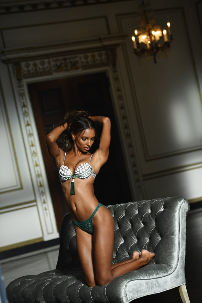 It looks like Victoria's Secret may be making major changes to its photo campaigns. The company recently announced that Jasmine Tookes would be wearing the $3 million Fantasy Bra at the 2016 Victoria's Secret Fashion Show. Now, photos from her Fantasy Bra fitting are making headlines because they were released without being retouched. In the official images, the 24-year-old Angel's stretch marks are visible, and her glowing confidence proves they are nothing to be ashamed of. We don't think it's a coincidence that Jasmine's photos skipped the editing process. Last year, the Victoria's Secret Fashion Show went viral because model Maria Borges rocked the runway with an Afro. Representatives from Victoria's Secret have not officially stated if this was an intentional move for the Fantasy Bra shoot, but if it was, this is another instance that shows that the brand celebrates natural beauty, and we hope other brands will follow.  It's important for young women to see stretch marks and natural unedited photos on even the most stunning models to maintain realistic body standards. Keep reading to see all the gorgeous photos from Jasmine's Fantasy Bra photo shoot.      Related:                                                                The Most Stunning Bra on the VS Runway Is, Unfortunately, $3 Million                                                                   Jasmine Tookes Shows Us Just How Intense VS Angel Workouts Are