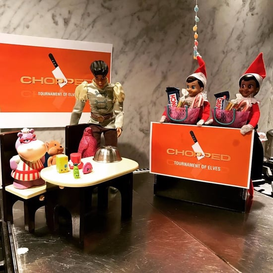 Celebrity Kids Elf on the Shelf Ideas
