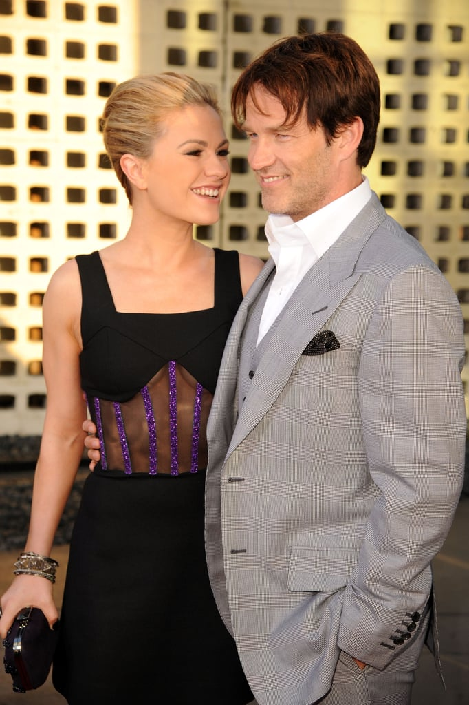 Anna Paquin and Stephen Moyer stayed close at an LA event for True Blood in June 2011.