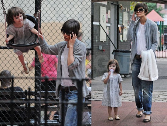 Sweet Suri Spotted on the Swings!
