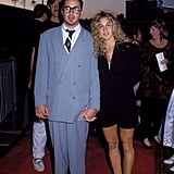 Even in 1980 she showed off her gams and quirky style — hey, Robert Downey Jr!