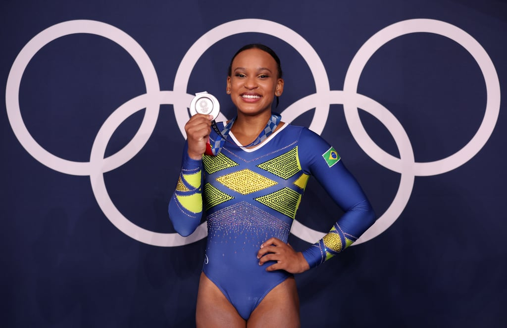 Rebeca Andrade Wins Silver at the Tokyo Olympics Women's Gymnastics All-Around Final