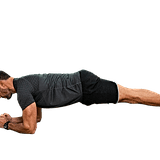 Plank Up Downs: As many as you can til exhaustion