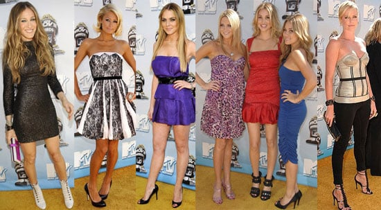 Lindsay Lohan, Sarah Jessica Parker and Others at the MTV Movie Awards