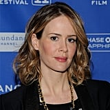 Sarah Paulson's Day-to-Night Lip Color