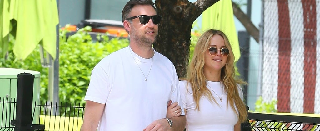 Jennifer Lawrence Matches Cooke Maroney on NYC Lunch Date