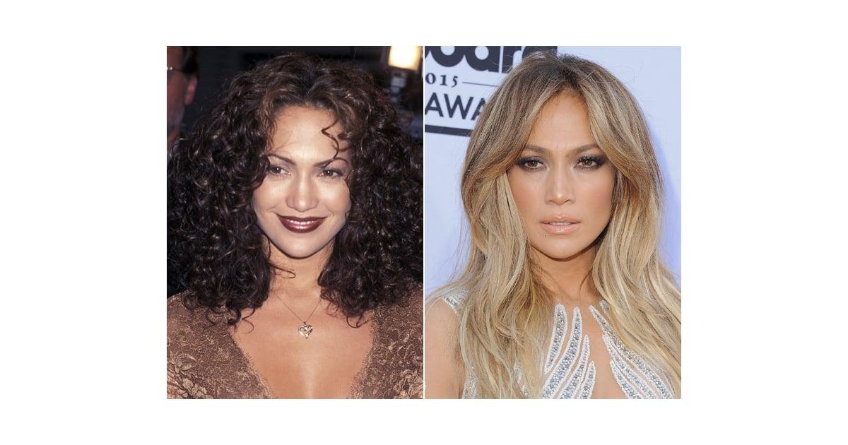 Jennifer Lopez Celebrity Eyebrow Transformations Popsugar Beauty
