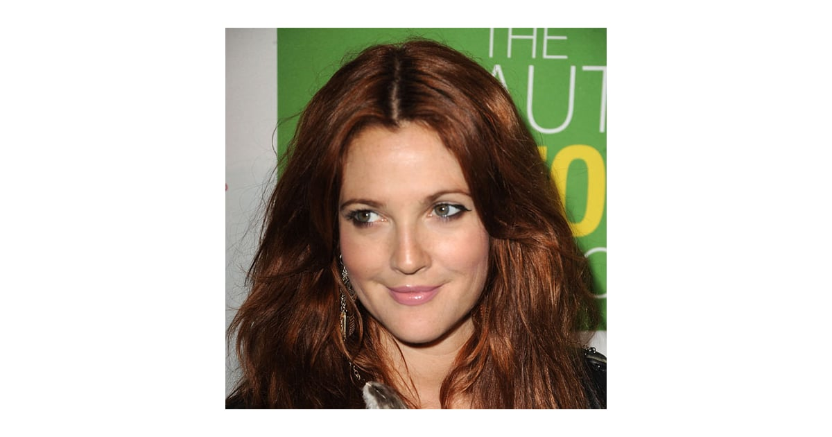 Drew Barrymores New Red Hair Color Popsugar Beauty