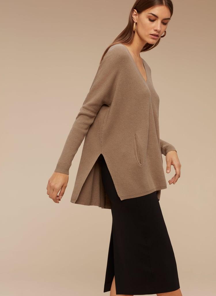 Aritzia Baylor Sweater ($125)