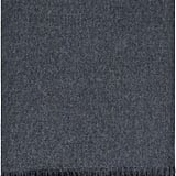iLuv Luxury Lambswool Modern Soft Blanket Charcoal