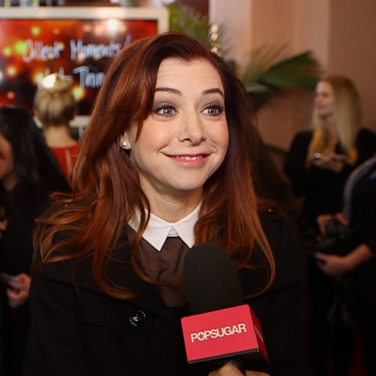 Alyson Hannigan Interview on How I Met Your Mother Finale